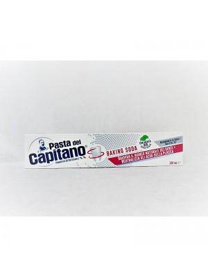 Pasta del Capitano pasta do zębów wybielająca bez fluoru,Baking Soda 100ml