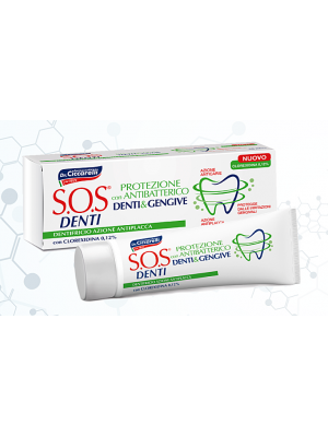 Pasta do  zębów z Chlorheksydyną S.O.S.DENTI 75ml